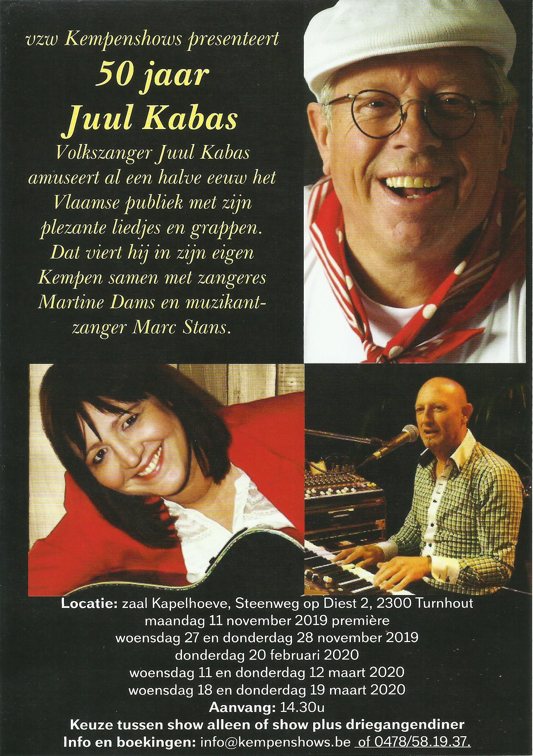 50 jaar Juul Kabas